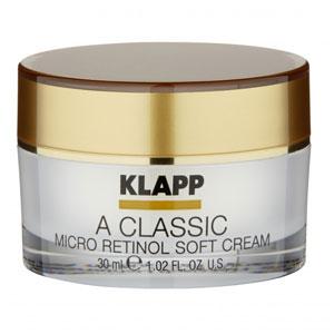 KLAPP  A CLASSIC Micro Retinol Soft Cream -Крем-пилинг «Микроретинол»